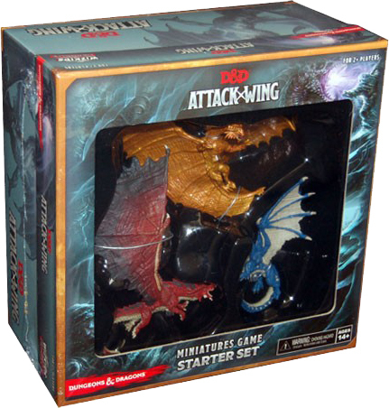 DDAW: D&D Attack Wing, Starter, engl.