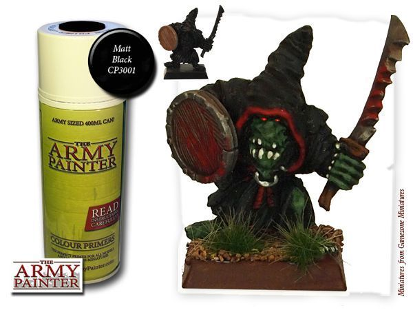 Army Painter: Color Primer, Matt Black 400 ml