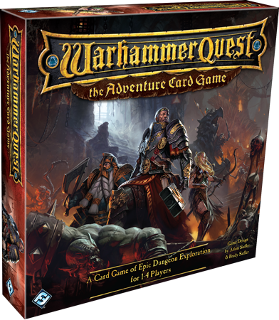 Warhammer Quest: The Adventure Card Game, engl.