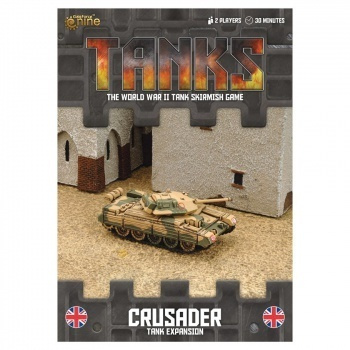 TANKS: British Crusader, engl.