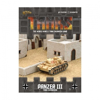 TANKS: German Panzer III, engl.