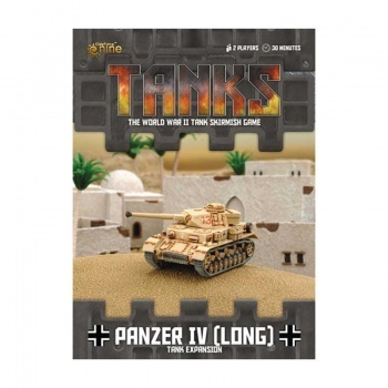 TANKS: German Panzer IV (Long), engl.
