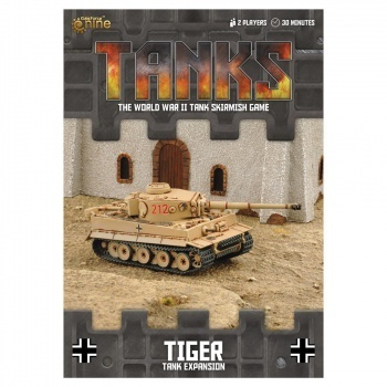 TANKS: German Tiger, engl.