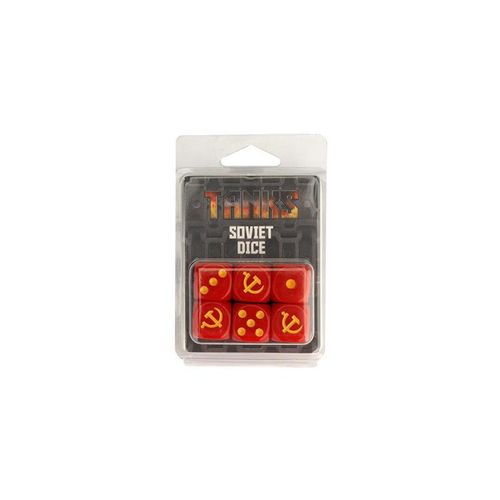 TANKS: Soviet Dice Set