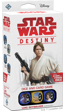 SW Destiny: Luke Skywalker - Starter, dt.