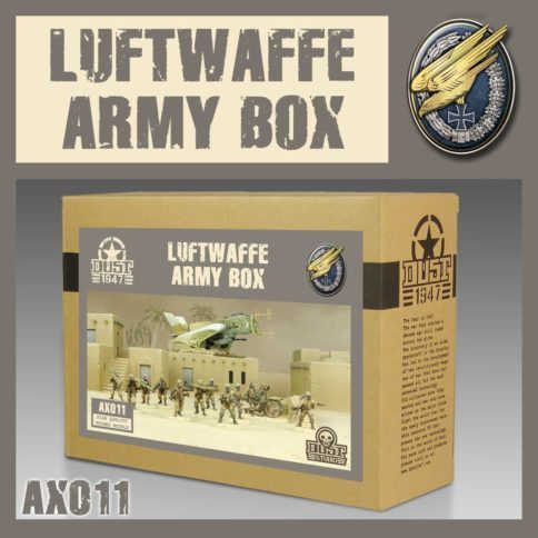 AXIS - LUFTWAFFE Army Box - PRIMED