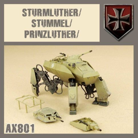 AXIS - Sturmluther/Stummel/Prinzluther - PRIMED