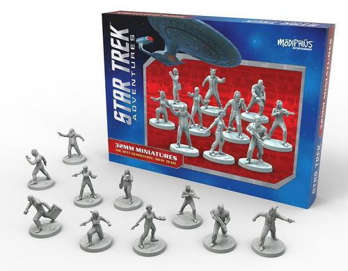 Star Trek Adventures: Next Generation Away Team (32mm)