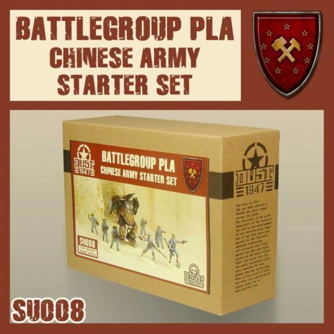SSU - PLA - Chinese Starter Set - PRIMED