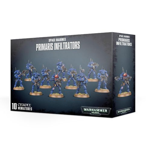 Space Marines: Primaris Infiltratoren