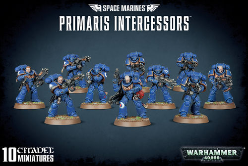 Space Marines: Primaris Intercessoren