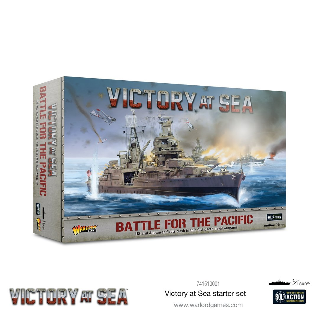 Battle for the Pacific - Victory at Sea starter game, engl.