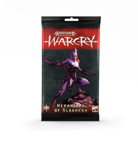 Warcry: Hedonith of Slaanesh Cards, multil.